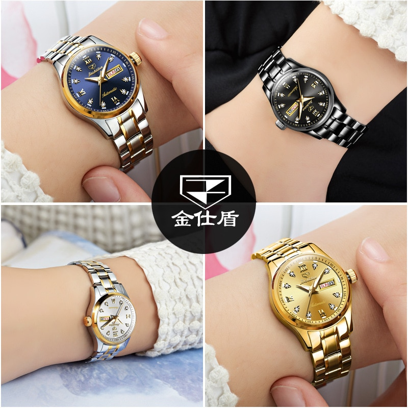 Watches waterproof luminous mechanical watch fashion casual ladies watch ladies watch enlarge