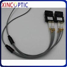 Gepanzerte Patchkabel Multimode 4 core 20 M MM OM1 62.5/125 OM2 SC LC FC ST 4 fasern 20 meter Gepanzerte Optical Fiber Jumper Kabel
