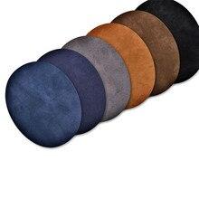 Boucles de réparation en daim Micro   Décoration des genoux en daim Micro sur patchs de réparation, Badges ovales colorés pour costume daffaires, veste, pull, vêtements de bricolage