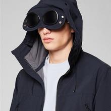 Winter Men's Jacket Heigh Streer Style Windproof Cardigan Zipper Plus Velvet Thickening Brand Jacket