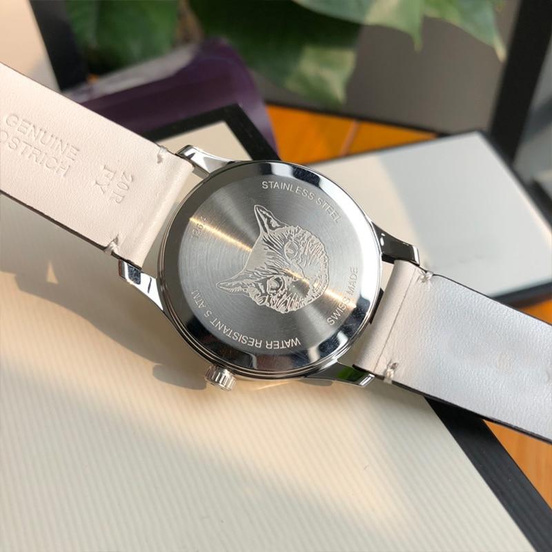 Fashion Casual Swiss Movement Quartz Ladies Watch Watch for Women Luxury GXB202102 enlarge