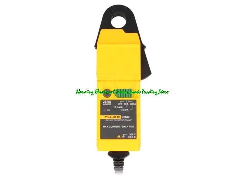 Датчик тока Fluke i310s, измеритель зажима переменного/постоянного тока 30 А и 300 а переменного и среднеквадратичного значения или ± 45 А и 450 а пост...