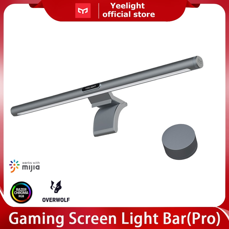 YEELIGHT RGB Screen LED light Bar Pro Eyes Protection Dimmable Colorful PC Computer USB Lamp Display Hanging Light miHome