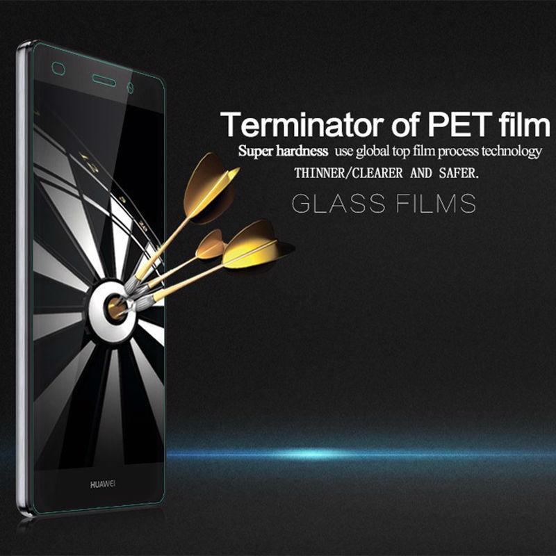0,26mm 2,5 D 9H Gehärtetem Glas für Huawei p10 p7 p8 P9 lite ehre 9 8 mate7 8 display-schutzfolien Schutzhülle Telefon Glas Film