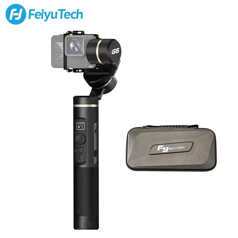 FeiyuTech Feiyu G6 защита от брызг Gimbal экшн камера стабилизатор обновление G5 с oled экраном