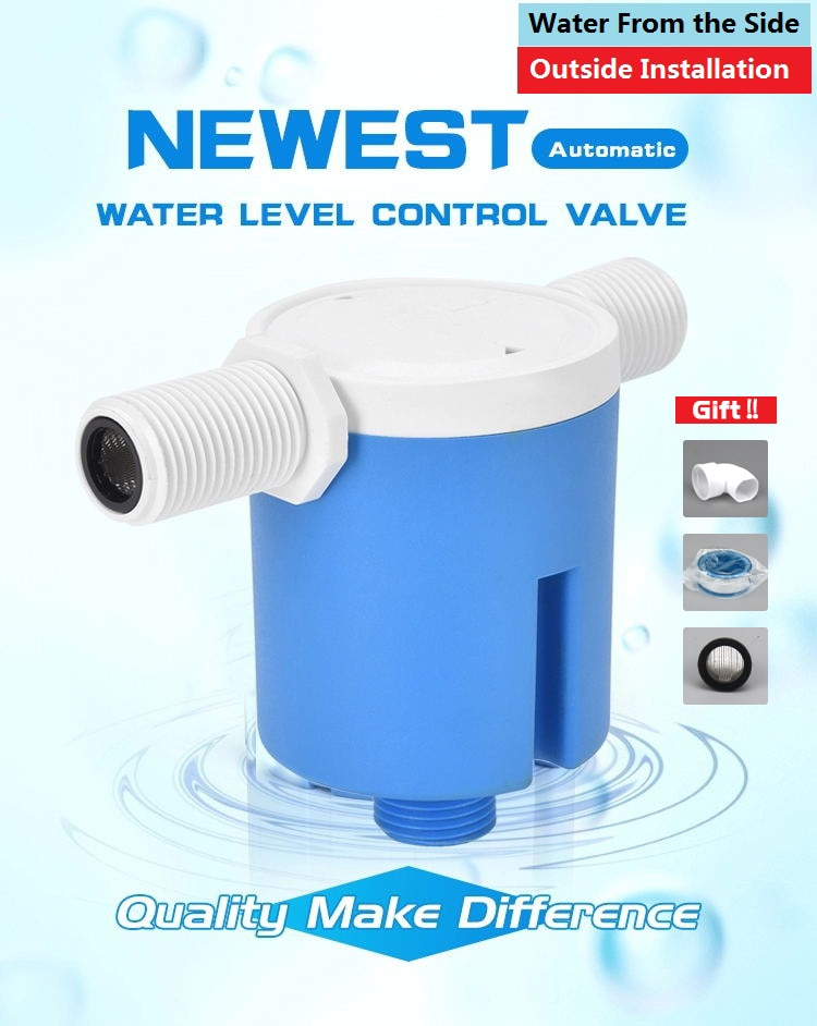 """aliexpress.com - JYW 1/2"""" 3/4"""" 1"""" Practical Water Level Control Durable Replacement Full Automatic Float Valve Anti Corrosion Nylon Ball Valve"""