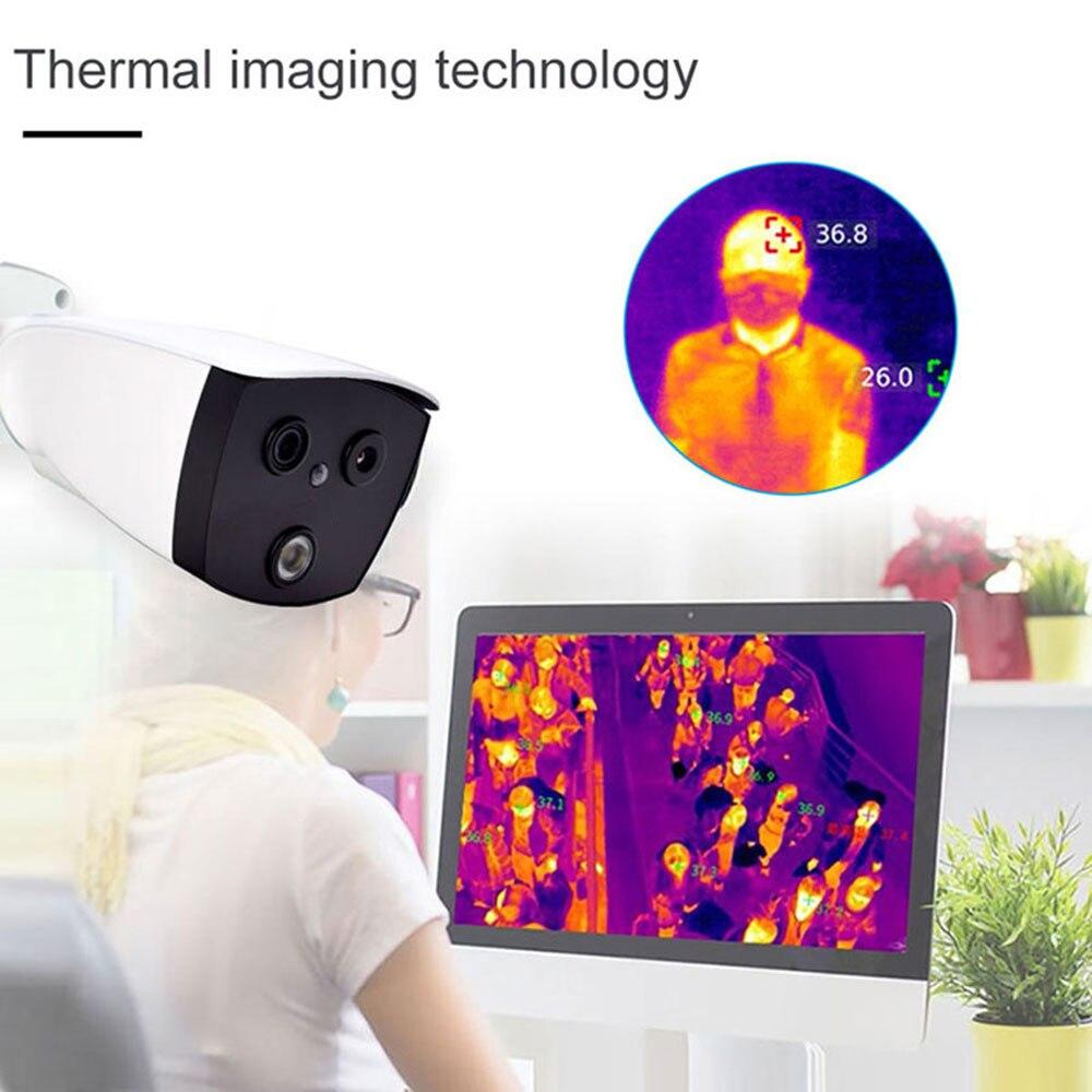 Cámara térmica, cámara termal de alcance, cámara térmica, cámara de visión para cámara termosca termo, escáner térmico de temperatura