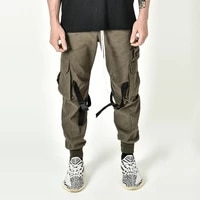 autumn and winter tide brand loose breathable cotton sweatpants mens street running training jogging basketball pants