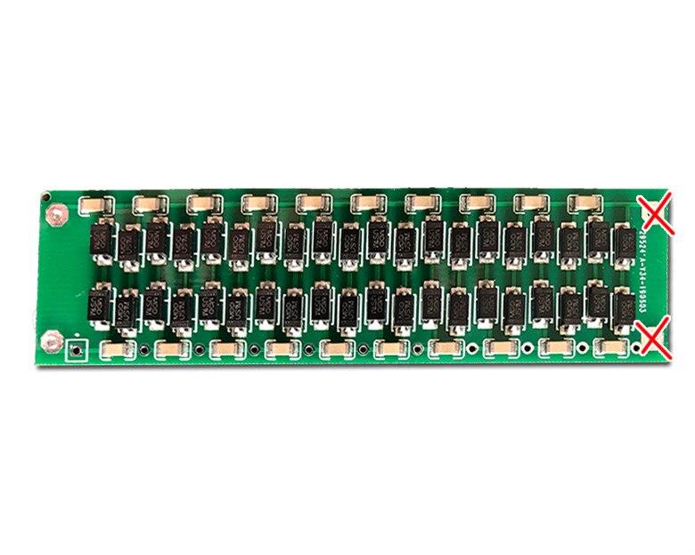 Placa de alta tensão do módulo 20000v da tensão 20 vezes da placa de circuito do retificador do doubler da tensão