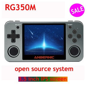 RG350M handheld game console metal shell console open source system 3.5 inch IPS screen retro ps1 arcade 3D games Child gift
