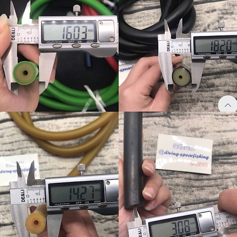 "TSMC 5/8"" spearfishing rubber latex tube 14mm 16mm 18mm nature pure latex speargun rubber tube rubber band latex Accessories"