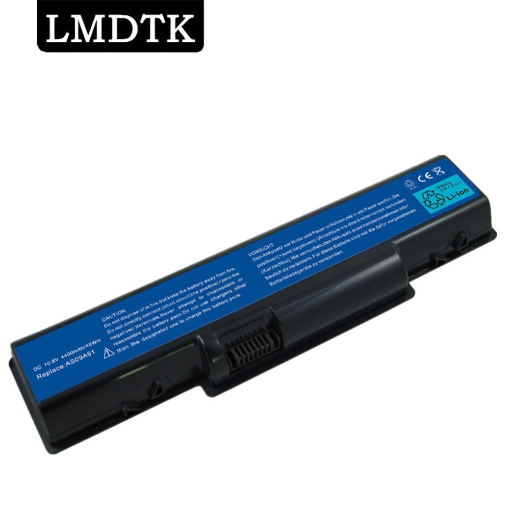LMDTK Новый аккумулятор для ноутбука для шлюза NV52 AS09A61 D525 D725 E525 E725 E527 E627 G620 4732Z AS09A31 AS09A41 AS09A51 AS09A56