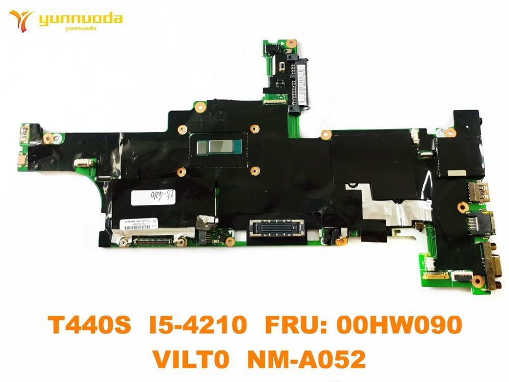 الأصلي لينوفو ثينك باد T440S اللوحة المحمول T440S I5-4210 FRU 00HW090 VILT0 NM-A052 اختبار جيد شحن مجاني