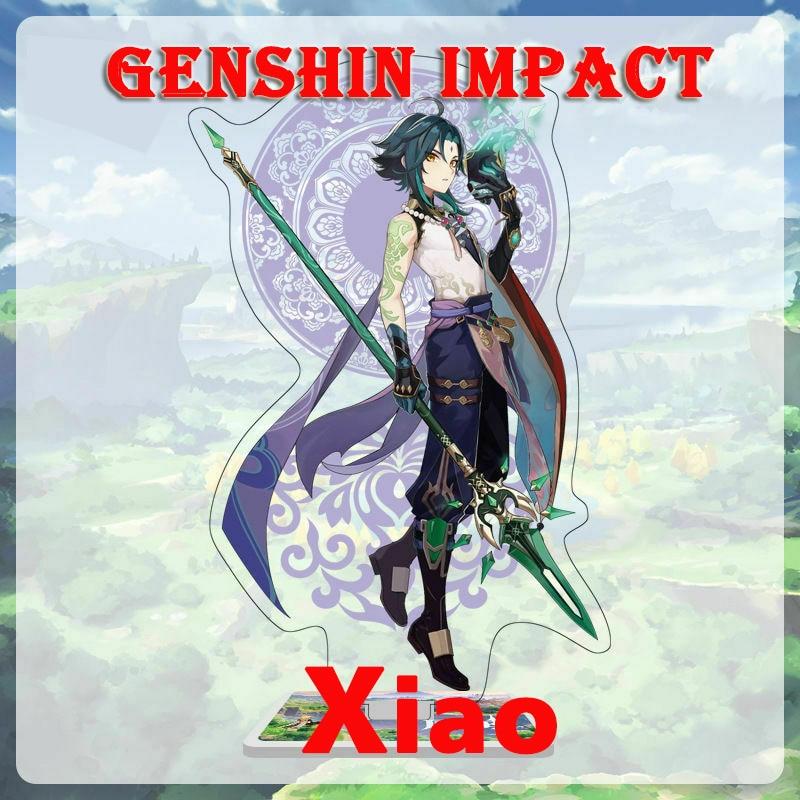 Genshin Impact Account Xiao Asia/Europe/America Ganyu Diluc Childe Keqing Qiqi Mona Venti 5 Star Starter Account