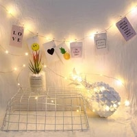 25m 2050 led fairy string lights with photo clip holder for christmas wedding dorm bedroom decor waterproof home indoor lights