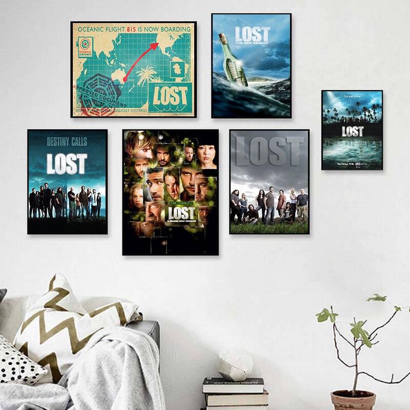 Картина из холста с изображением героев фильмов, плакаты и принты, Настенная картина, винтажный постер, декоративный домашний декор