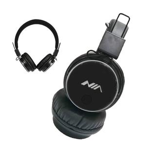 NIA Q8 Original Wireless Bluetooth Headphone Foldable Stereo Headsets with Mic Sport Earphone Support TF Card FM Radio App