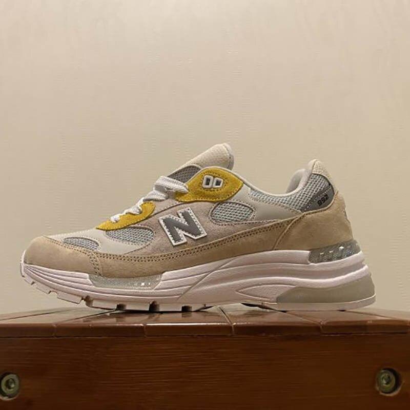 Оригинальные противоскользящие кроссовки New Balance для мужчин и женщин NB992 США, замшевые уличные кроссовки для пересеченной местности в стиле ретро, модель 992 года, 36-45