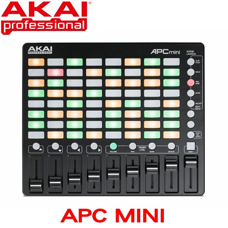 Akai-controlador profesional APC Mini, compacto, Ableton en vivo, descarga en vivo (8x8,...