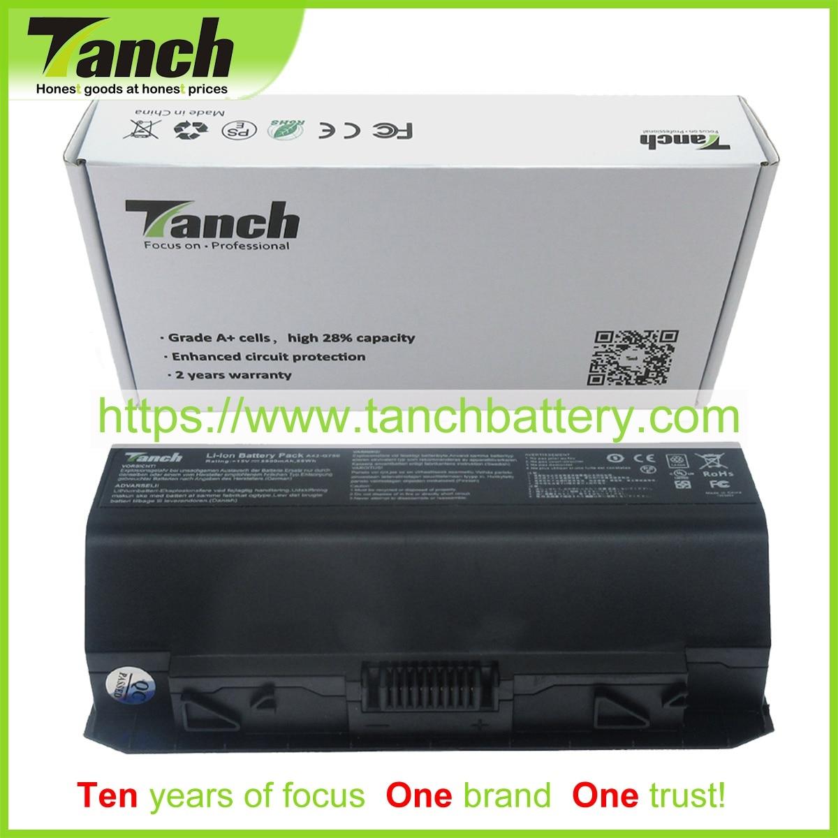 Tanch بطارية كمبيوتر محمول ل ASUS A42-G750 G750JX G750JW G750JZ G750JS G750JH-DB72 ROG G750JM GFX70JZ -BSI7N23 G750JY 15V 8 الخليوي