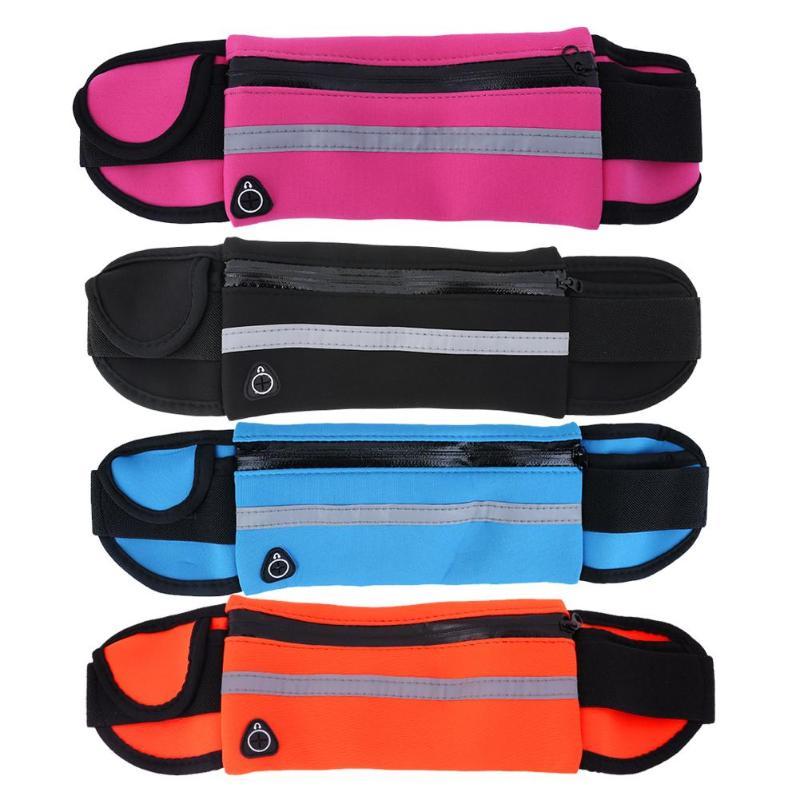 Riñonera para correr al aire libre de 5,5 pulgadas, soporte impermeable para teléfono móvil, cinturón para correr, bolsa para el vientre, bolsa para gimnasio, bolsa para Fitness, accesorios deportivos para mujer