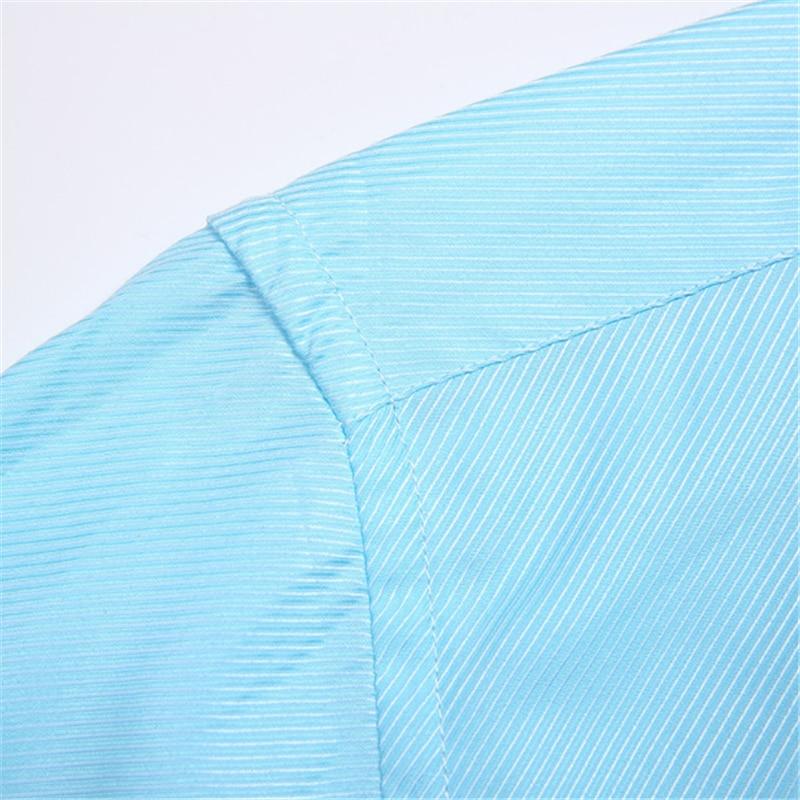 Men's Korean Fashion Business Long Sleeve Shirt Blusas Blouse Camisa Masculina Bluzki Bluzka Koszula Cotton 2020 Chemise Longue