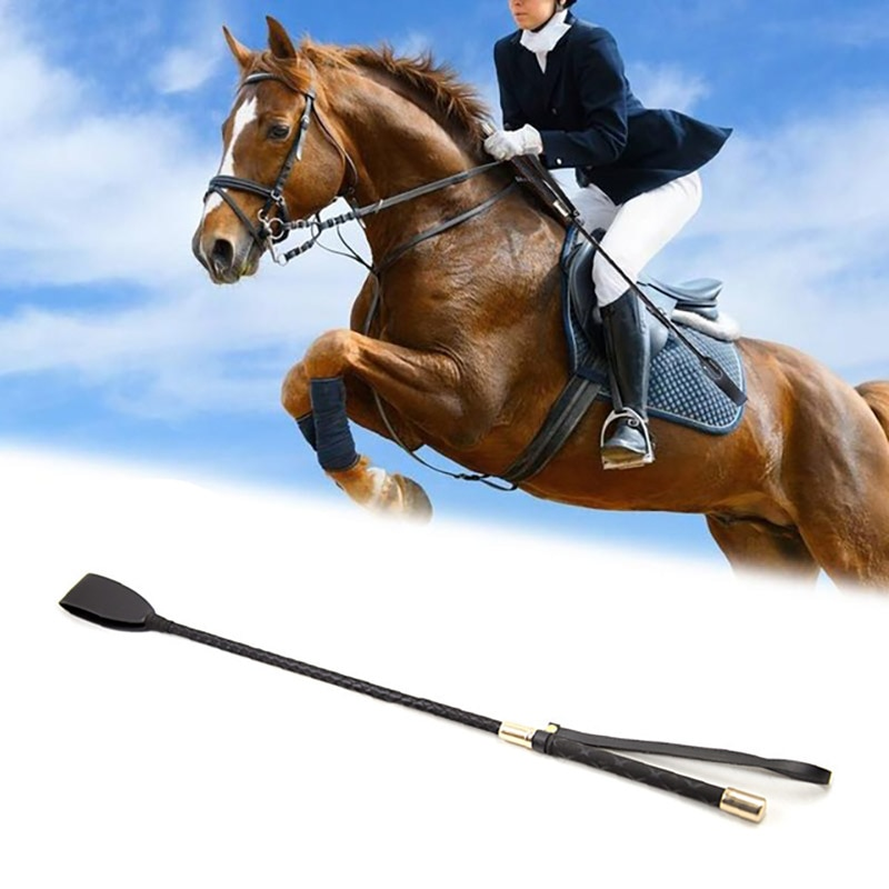 Leather Horse Whip Riding Stage Performance Show And More  Leather Equestrian Horseback Racing Riding  Role Plays Trail