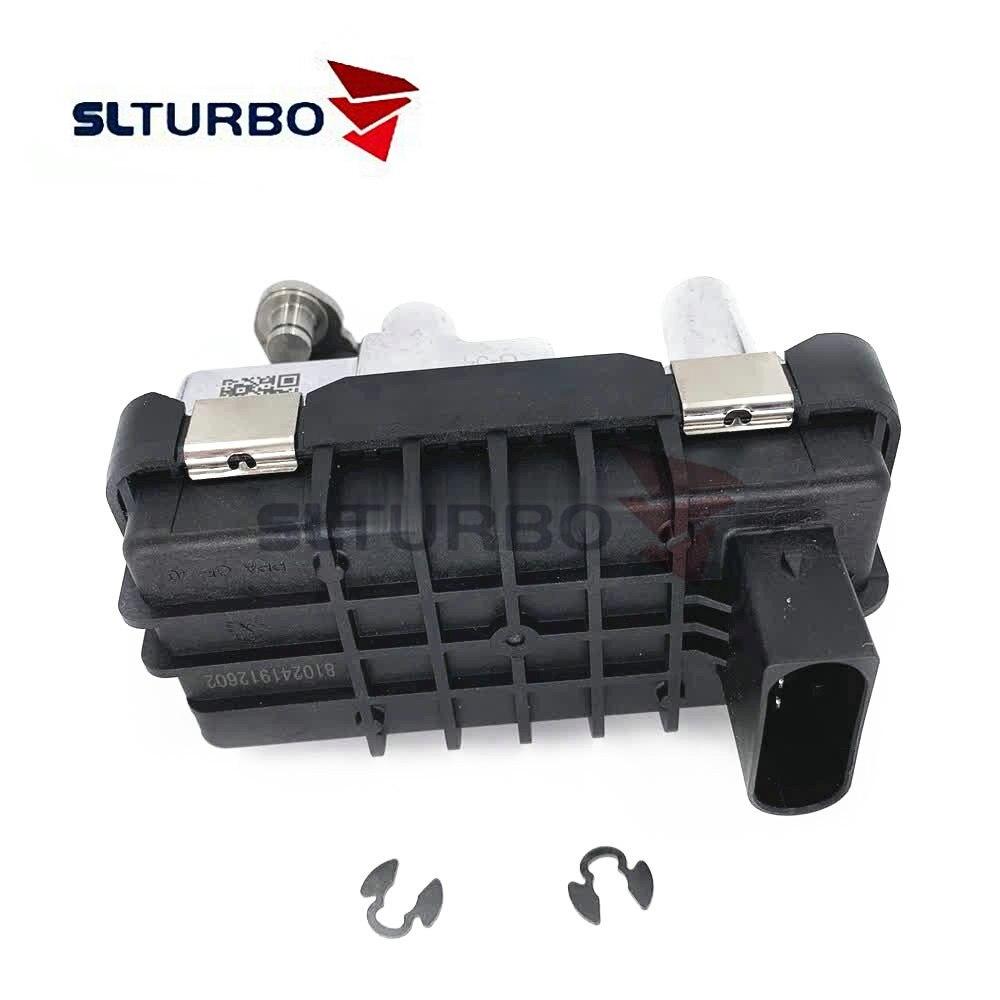 G-54 GT2256V turbocompresor actuador electrónico Hella wastegate 727463 para Mercedes e-klasse 270 CDI (W211) 130 Kw 177 HP OM 647