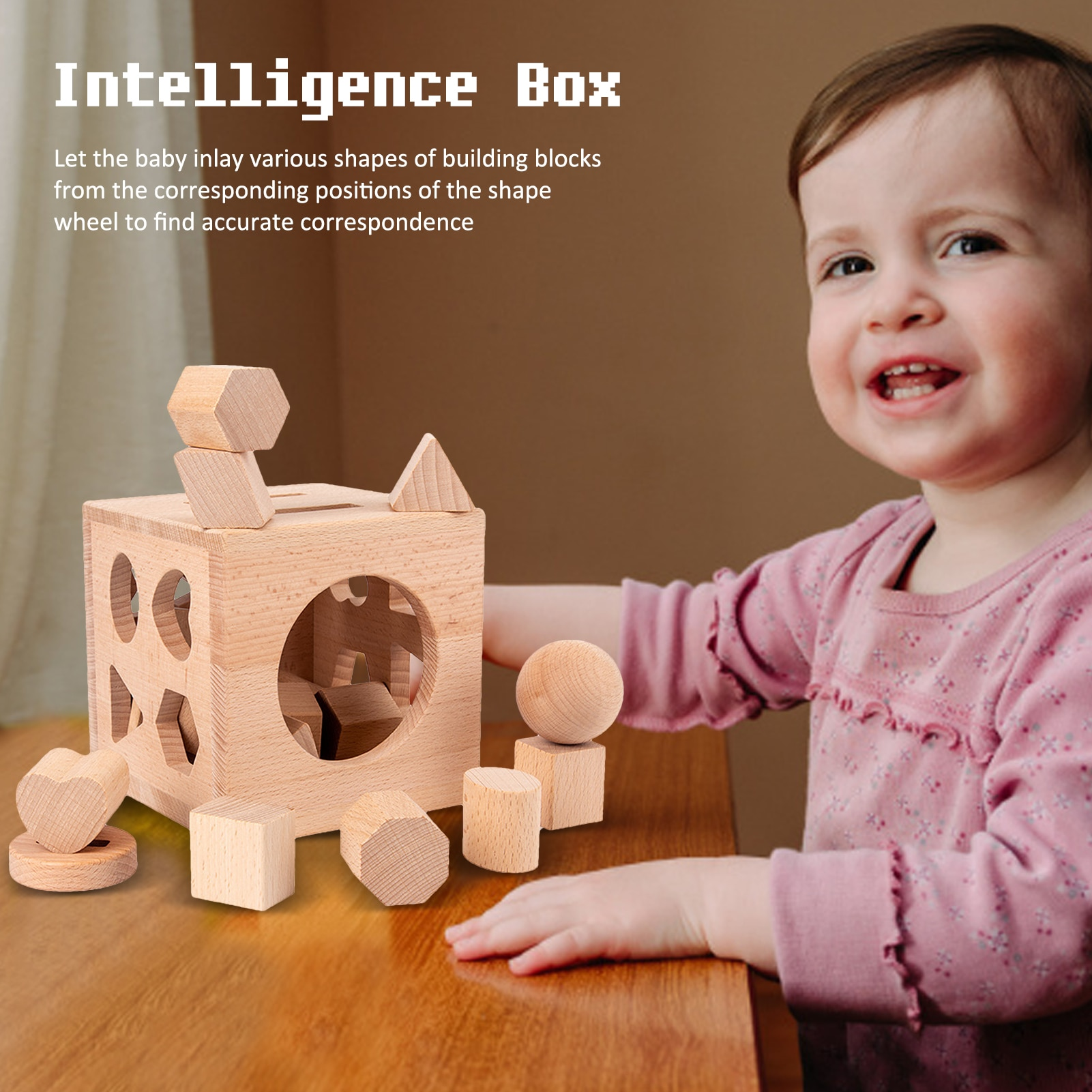 Kids Toys Wooden Shape Sort Geometric Shapes Building Blocks Matching Cognition Baby Early Educational Toys For Children Gift baby recognition color logic intelligence toys geometric bricks cube matching building blocks toy baby early education gift toy