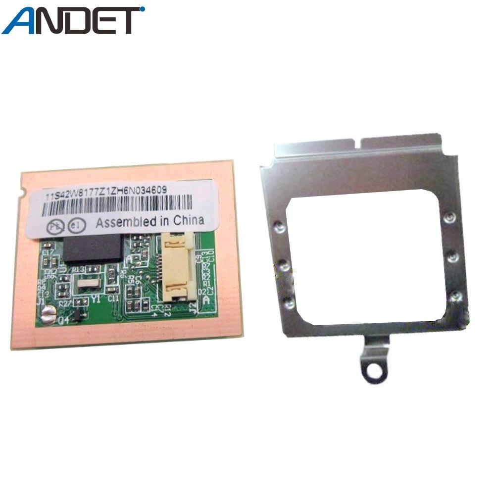 Nuevo Original para Lenovo ThinkPad T420 T420I lector de huellas dactilares Sensor subtarjeta con tornillos de Marco 42W8177