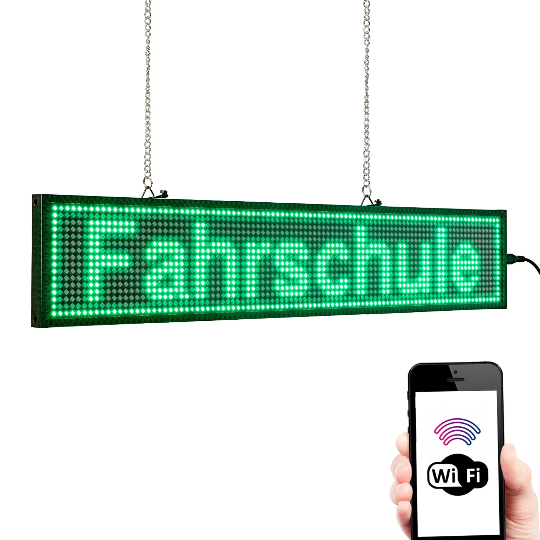 Led تسجيل 50 سنتيمتر أحادية اللون LED وحدة مجلس WiFi /USB للبرمجة شاشة عرض رسائل التمرير شاشة LED علامة