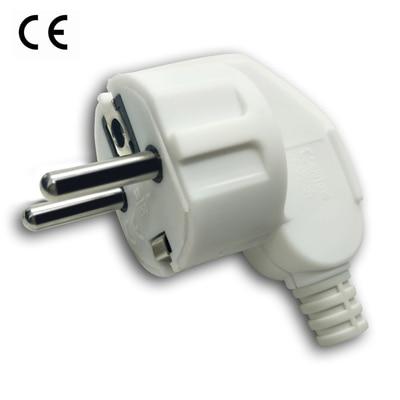 Adaptador de corriente alterna para la UE, toma de corriente eléctrica rebobinable,...