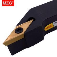 MZG CNC 10mm 12mm SVJBR1212H11 porte-outil de tournage externe VBMT VBGT insère la barre de coupe de tour alésage outil en acier serré