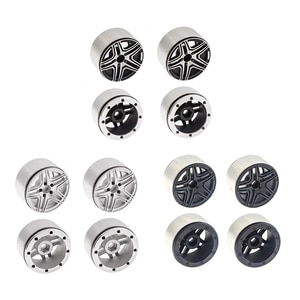 2.2 Inch Wheel Hub for SCX10 1: 10 Scale RC Rock Crawler Hobby Car Modified Parts
