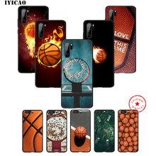 IYICAO basket-ball Art Shoot étui pour huawei P30 P20 P10 P9 P8 2017 2016 2015 P Smart Z Plus 2019 Mate 20 10 Lite Pro Mini