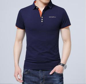 ZNG 2019 New  Men Clothing Male Fashion Casual Men Polo Shirts Solid Casual Polo Tee Shirt Tops High Quality Slim Fit