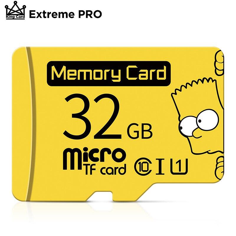 Micro SD Card 16GB 32GB 64GB 128GB Class 10 UHS-1 Flash Drive Memory Card TF Card 32 GB 16G For Smar