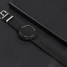 Bracelet de montre en Nylon otan pour Amazfit t-rex chargeur de montre bracelet de montre en toile pour Huami t-rex