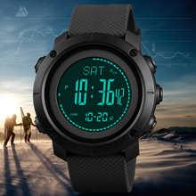SKMEI альтиметр барометр термометр высота мужские цифровые часы спортивные часы альпинистские походные наручные часы Montre Homme 1427