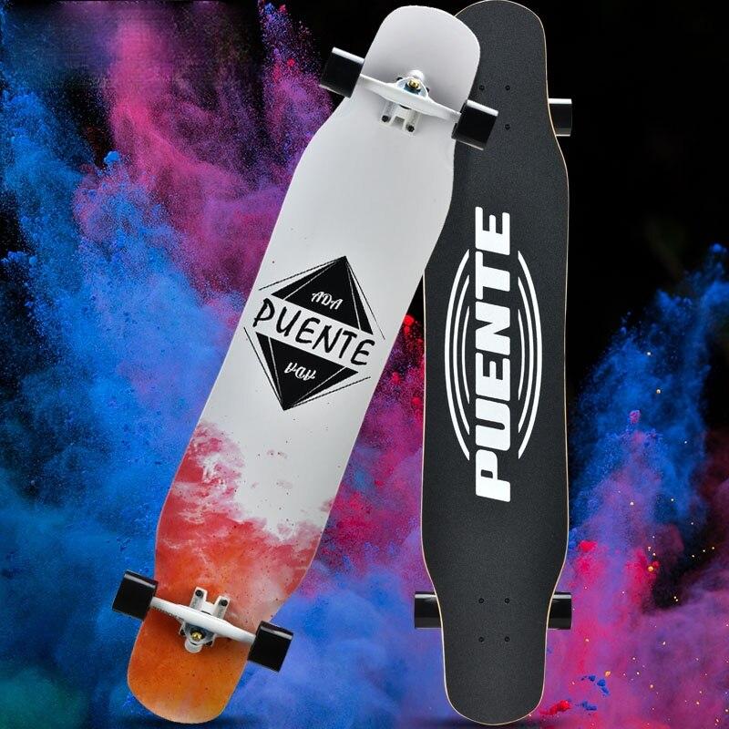 Adults Beginners Skateboard Anime Design High Quality Complete Skateboard Deck Art Planche De Skate Sports Accessories DK50SB