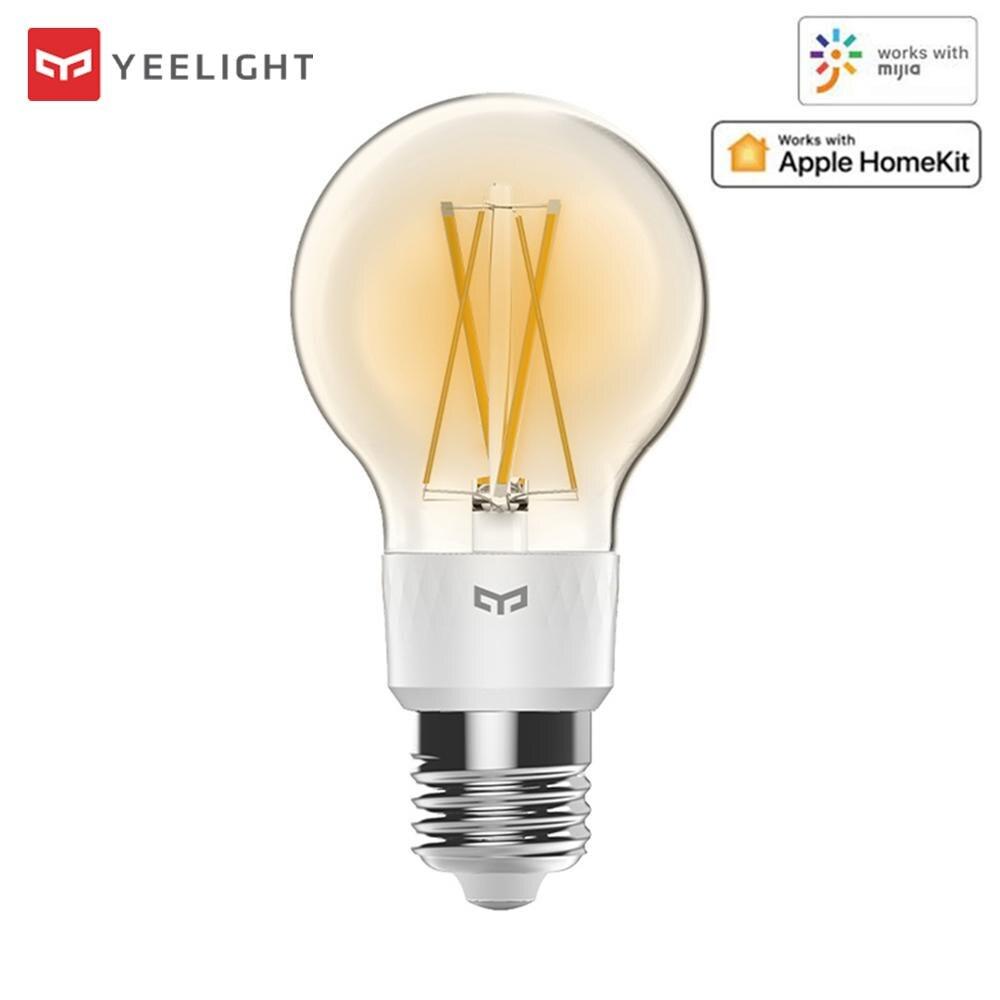 Yeelight-لمبة خيوط LED متصلة ، YLDP12YL E27 ، 700 لومن ، 6 واط ، مصباح إديسون ، يعمل مع Apple Homekit Retro