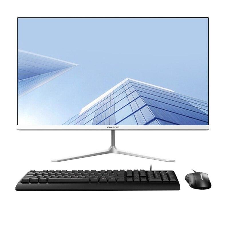IPASON Business-S 23.6-Inch IPS All-In-One Computer Intel 4-core J3160 8G Memory 240Gb SSD 99% sRGB/WiFi/Keyboard Set Desktop PC