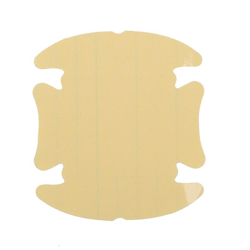 4pcs lot car handle protection film car exterior transparent sticker fit for automotive paint scratch guard 4Pcs/Lot Car Door Handle Protection Film Clear Anti Scratches Sticker Automotive Exterior For Car Decal Protector