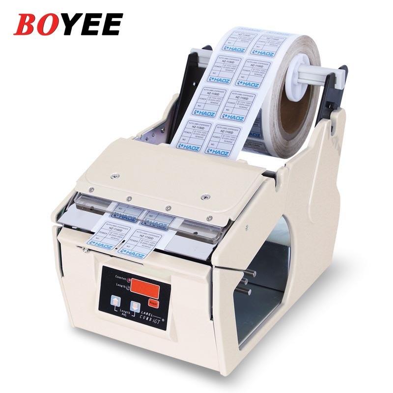 BOYEE التلقائي موزع بطاقات X-130 دليل ملصقا موزع شبه التلقائي تسمية تجريد آلة