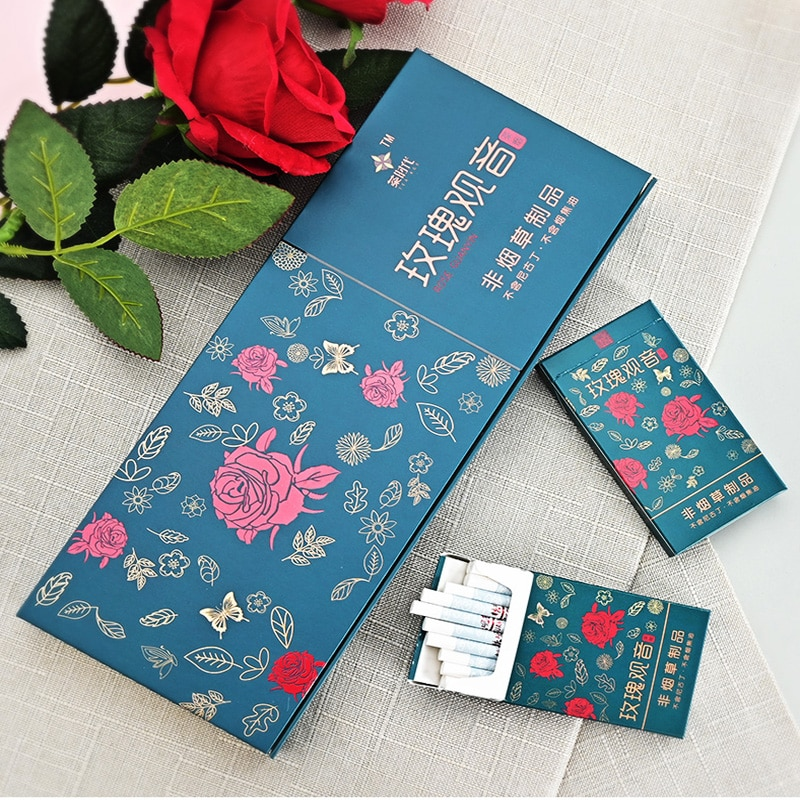 The  Tea cigarette (Rose Flavor )Cigarette substitute 100% Nicotine Free-100% Nitrosamine free