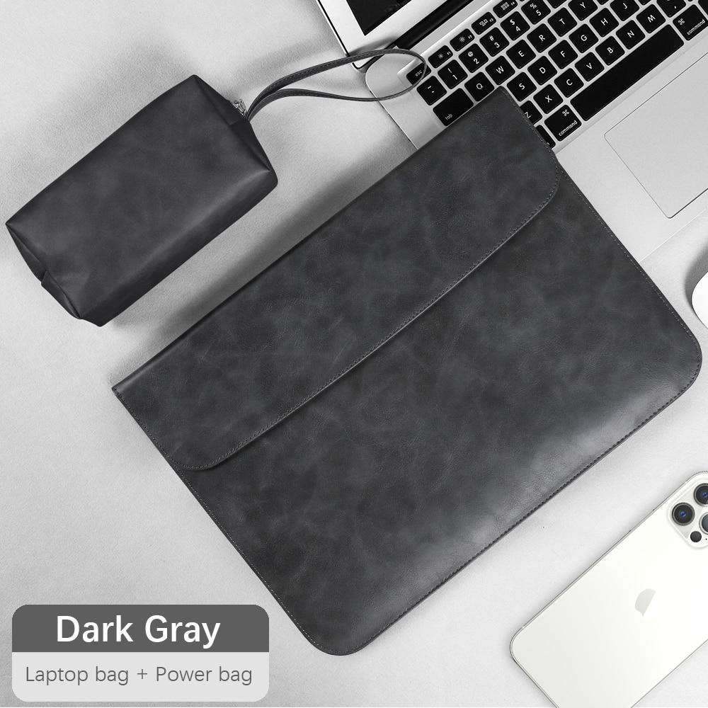 Сумка-портфель для ноутбука 15 6 для macbook air 13 чехол для macbook pro 13 Чехол air m1 для matebook HP 13,3 14 15 15,4 16 дюймов Чехол