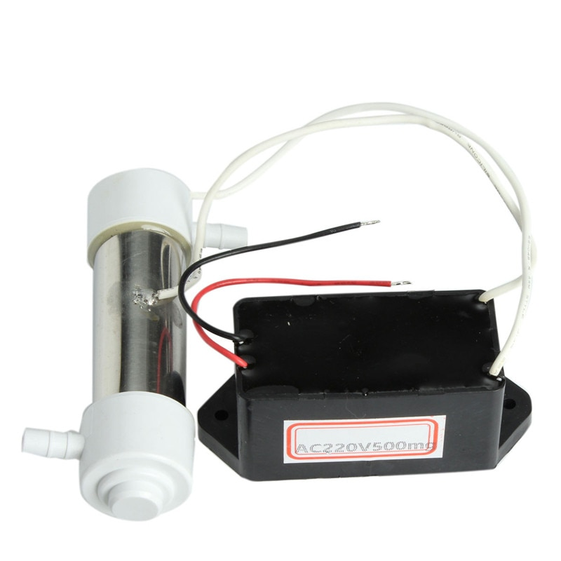 купить 500mg Ozone tube ozone for ozone generator Silica Tube Ozone Generator Ozonizer For Water Air Purification Accessories AC220V в интернет-магазине