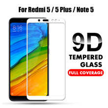 9D Full Cover Tempered Glass For Xiaomi Redmi Note 5 Global version Screen Protector for Redmi Note 5 Pro Note5 Protective Film