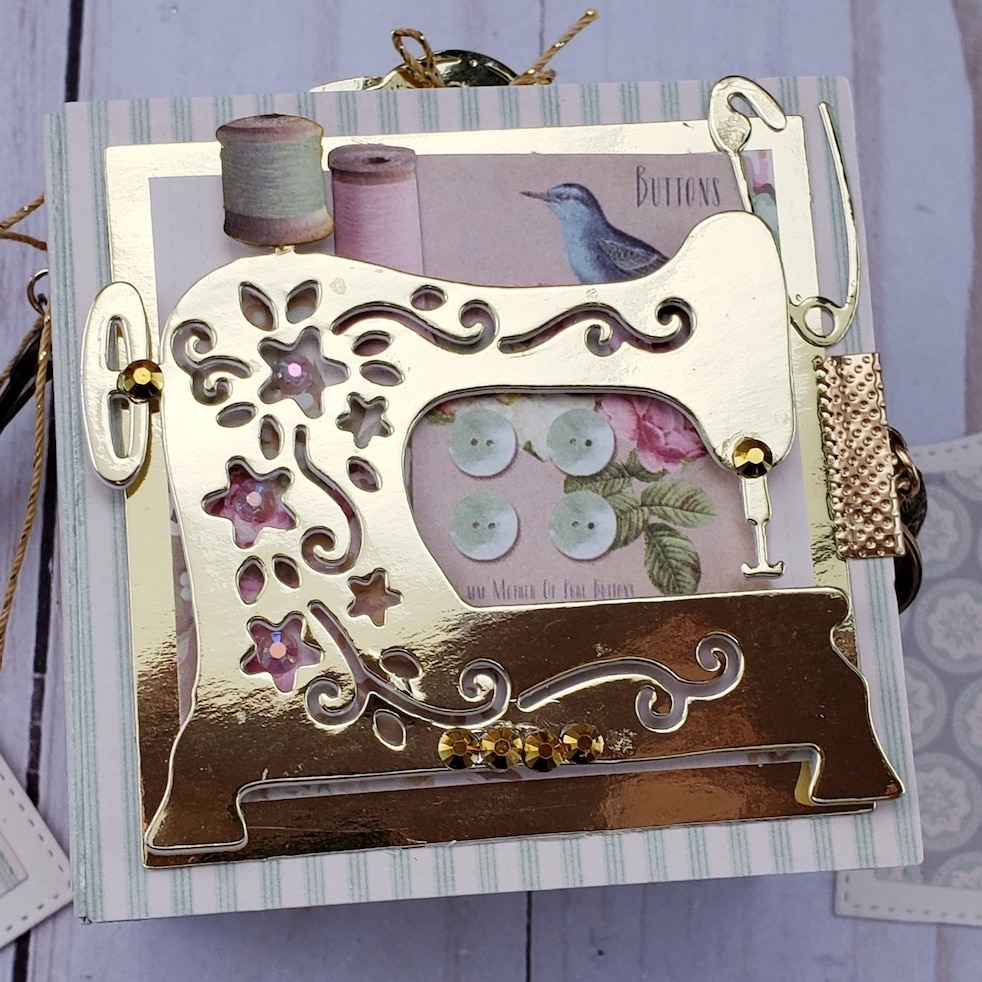 Troqueladora de Metal, máquina de coser de corte de aluminio, DIY álbum de recortes, tarjetas artesanales de papel, Arte con plantillas, troqueladora