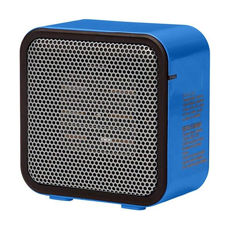 Gran oferta de calentador de espacio 500W portátil de escritorio Mini ventilador calefactor uso dormitorio calentador Oficina máquina para invierno